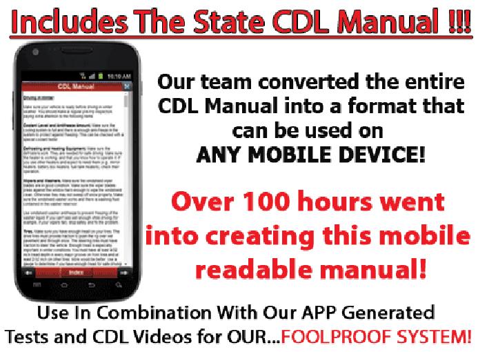 CDL Manual